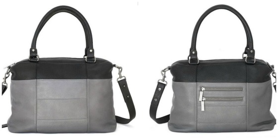 Wanderer handbag in grey