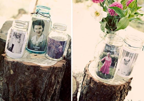 Such a lovely idea to honour passed loved ones